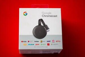 Google Chromecast Charcoal 3rd Generation