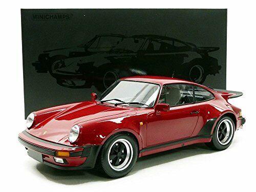 MINICHAMPS 1977 PORSCHE 911 TURBO Rouge Pourpre 1 12 Grande Voiture  Neuf le 100pcs