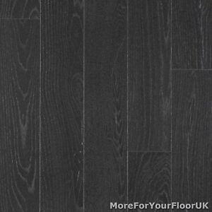 Image Is Loading Dark Grey Wood Style Vinyl Flooring Kitchen Bathroom