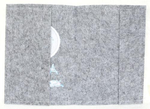 U-Hefthülle Umschlag Untersuchungsheft Hülle U-Heft Filz Schildkröte 1