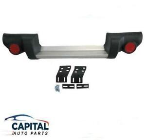 Rear Step Bumper Bar with Brackets & Plastic Ends Mitsubishi Triton ML/MN 06-14