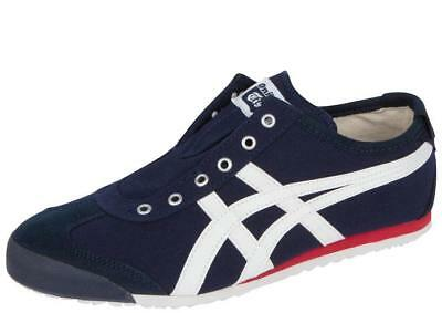 onitsuka tiger mexico 66 slip on black and white label it nz