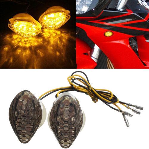 2pcs Turn Signals For Honda CBR 600 1000RR 2004-2013 CBR954 2002-2003 CBR929 F4i