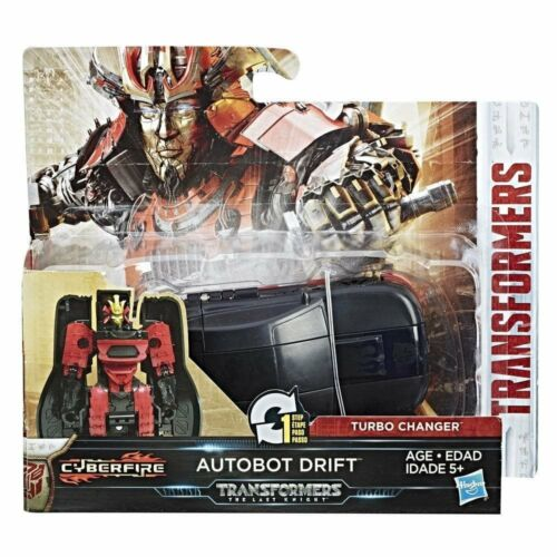 The Last Knight 1-étape Turbo changeurs CYBERFIRE Autobot Drift Transformers