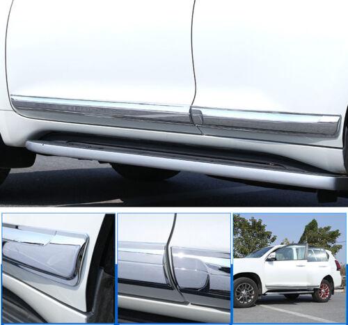For Toyota Land Cruiser Prado FJ150 18-19 Car Body Door Side Molding Cover Trim