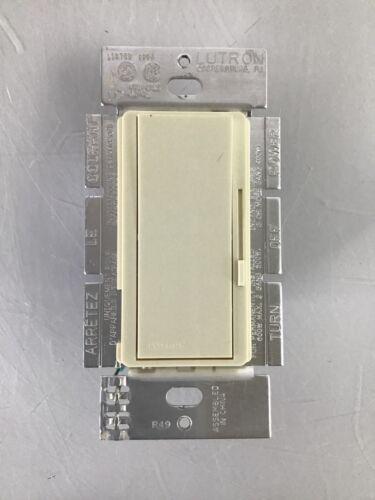 Lutron Diva DV-600P-IV Ivory Single-Pole Preset Dimmer