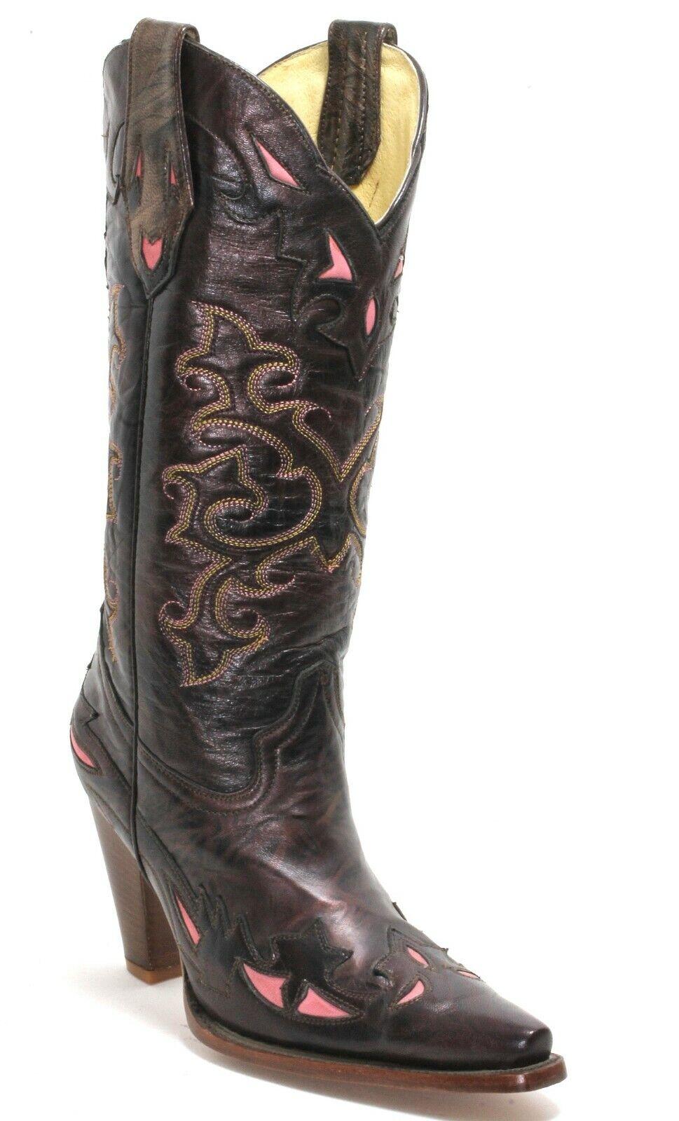 27 Cowboystiefel Westernstiefel Texas Catalan Style Fashion American Bull 37