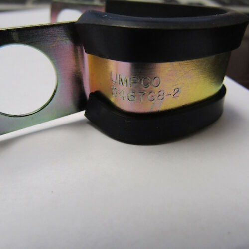 """LOT OF 10 UMPCO S467G8-2 1//2/"""" X 2 LOOPS CUSHION CLAMP"""