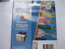 EPSON ORIGINALE t0520 for Stylus COLOR 640 670 440 MHD 2017 OVP
