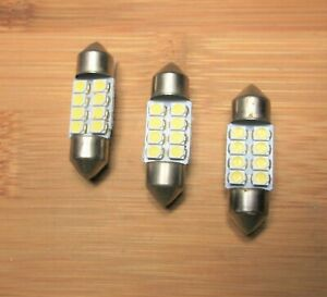 8 New BBT Super Bright Marine Grade 12 volt White LED Lights