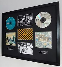 The Stone Roses/Oasis Framed Montage-Limited Edition-Metal Plaque-Certificate