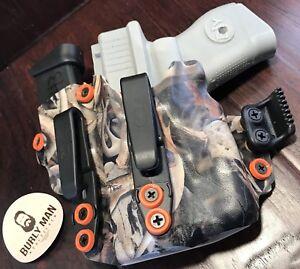 Details about Fits Glock 26 G26 G-26 W/ TLR6 Light S&W Streamlight Atac  Bonz Kydex Holster IWB