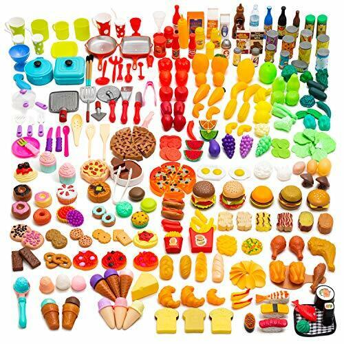 Catchstar Play Food Plastic Pretend Fake Toy Set For Kids Kitchen Baby Gift 120 Sale Online Ebay
