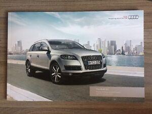 AUDI Q PRICING SPECIFICATION GUIDE CAR BROCHURE TDi - Audi suv q7 price