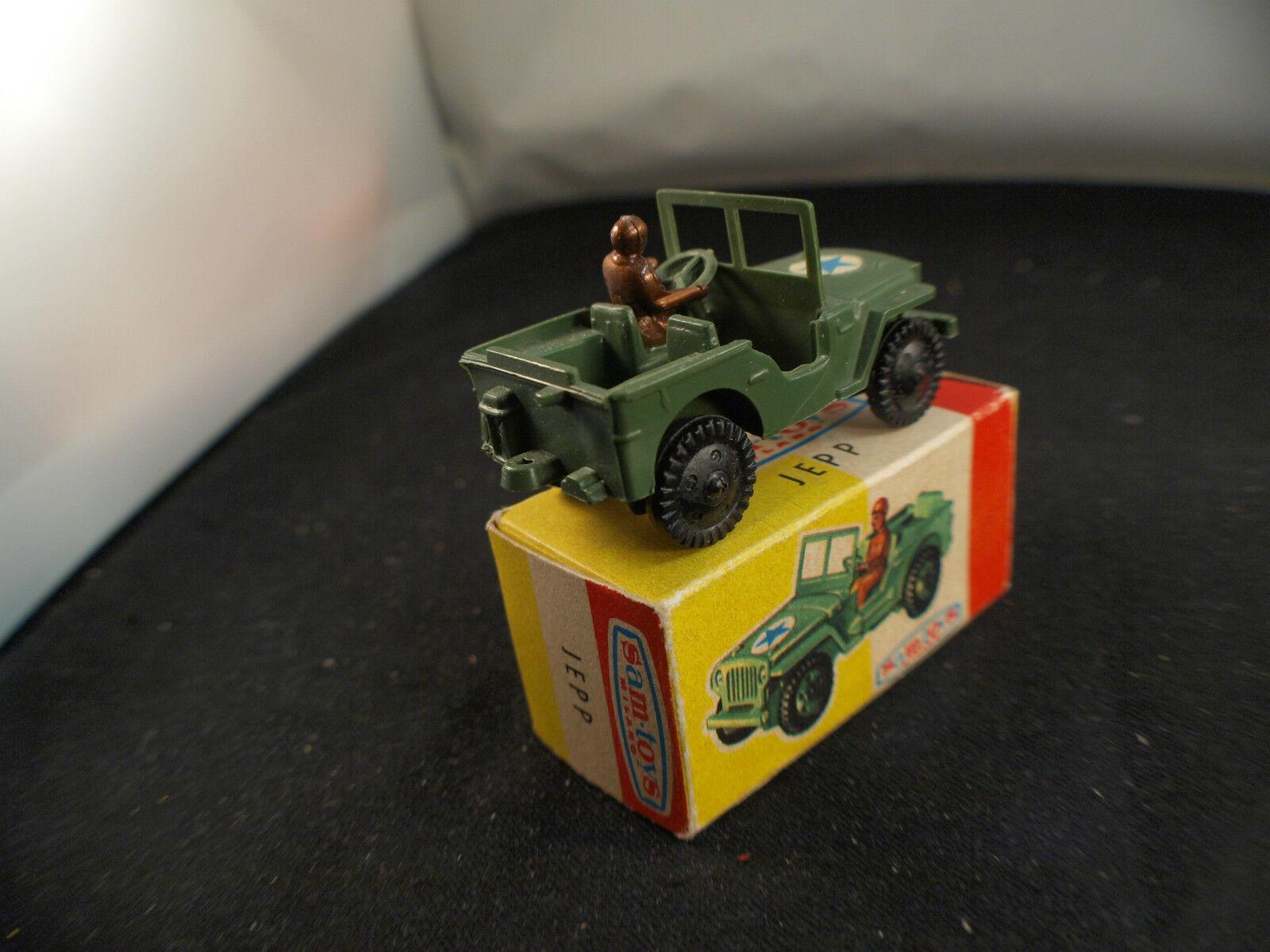 Sam Toys  n° 437 Jeep Jepp Jepp Jepp plastique militaire Us neuf en boite 7 cm rare cd083a