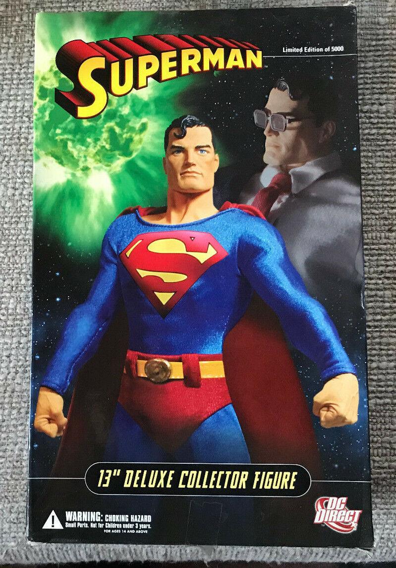 DC Direct 13  DELUXE COLLECTOR EDITION Superman avec boite échelle 1 6
