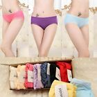 Soft Women Lady Briefs Lingerie Knickers Modal Lace Panties Sexy