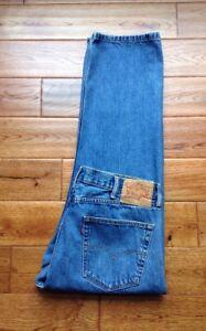 505 Levi's Authentique 38x29 Incroyable 38x30 pour Jeans coupe normale hommes Actuel PAwdqx