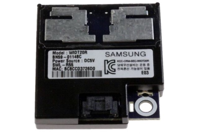 New Genuine OEM Samsung TV Wifi Module BN59-01148C