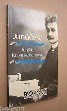1985. JANACEK. JENUFA. KATYA KABANOVA. ENO OPERA GUIDE 33. MUSIC.