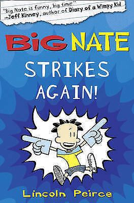 1 of 1 - Big Nate Strikes Again by Lincoln Peirce (Paperback, 2010)