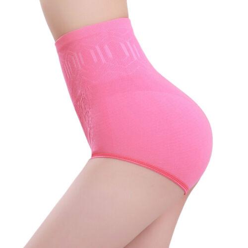 Womens Underwear Panties High Waist Tummy Control Body Shaper Briefs Short L