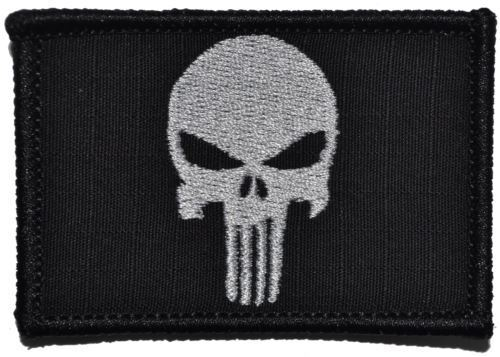 2x3 Patch Punisher Skull