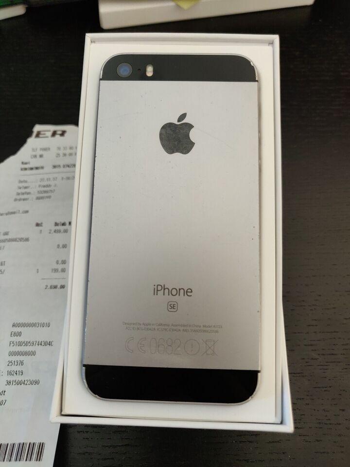 iPhone SE, 32 GB, grå