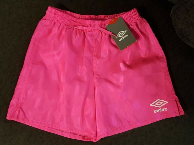 404c7d3d4ba UMBRO Check Short Pink Punch XL youth soccer pink extra large #2 ...