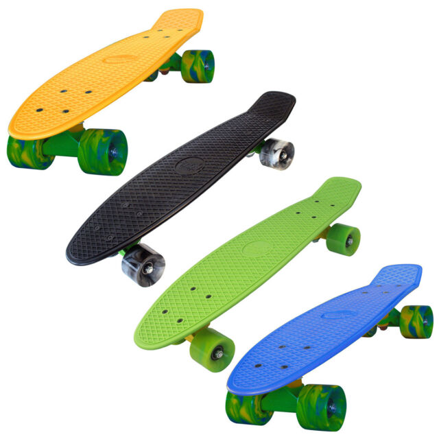 """SCHILDKRÖT STREETSURFING BEACH BOARD 22"""" Pennyboard Skateboard Penny Board"""