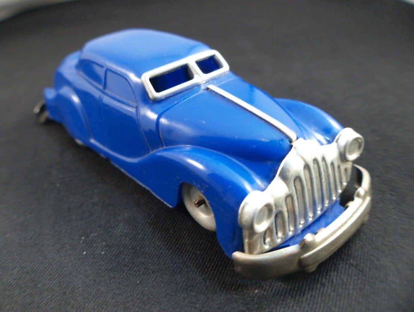 Gégé Auto de Plástico Duro Clockwork Motor Llave 15cm Poco Fréquente