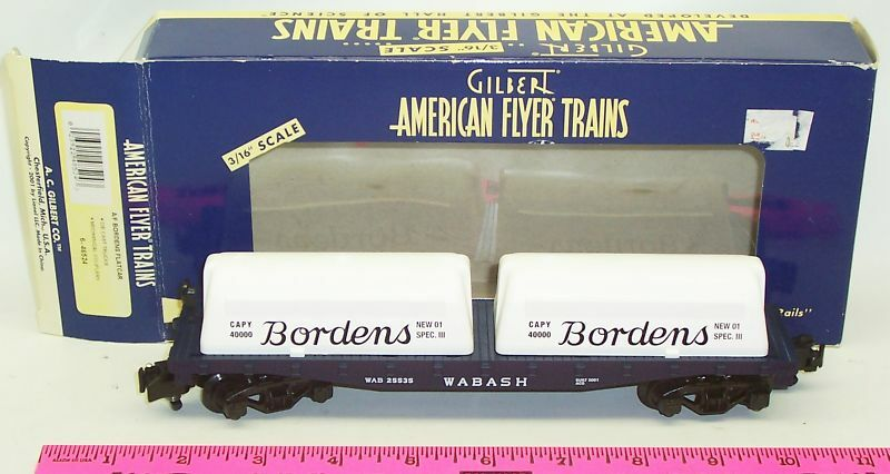 New American Flyer 6-48524 American Flyer Bordens flatcar