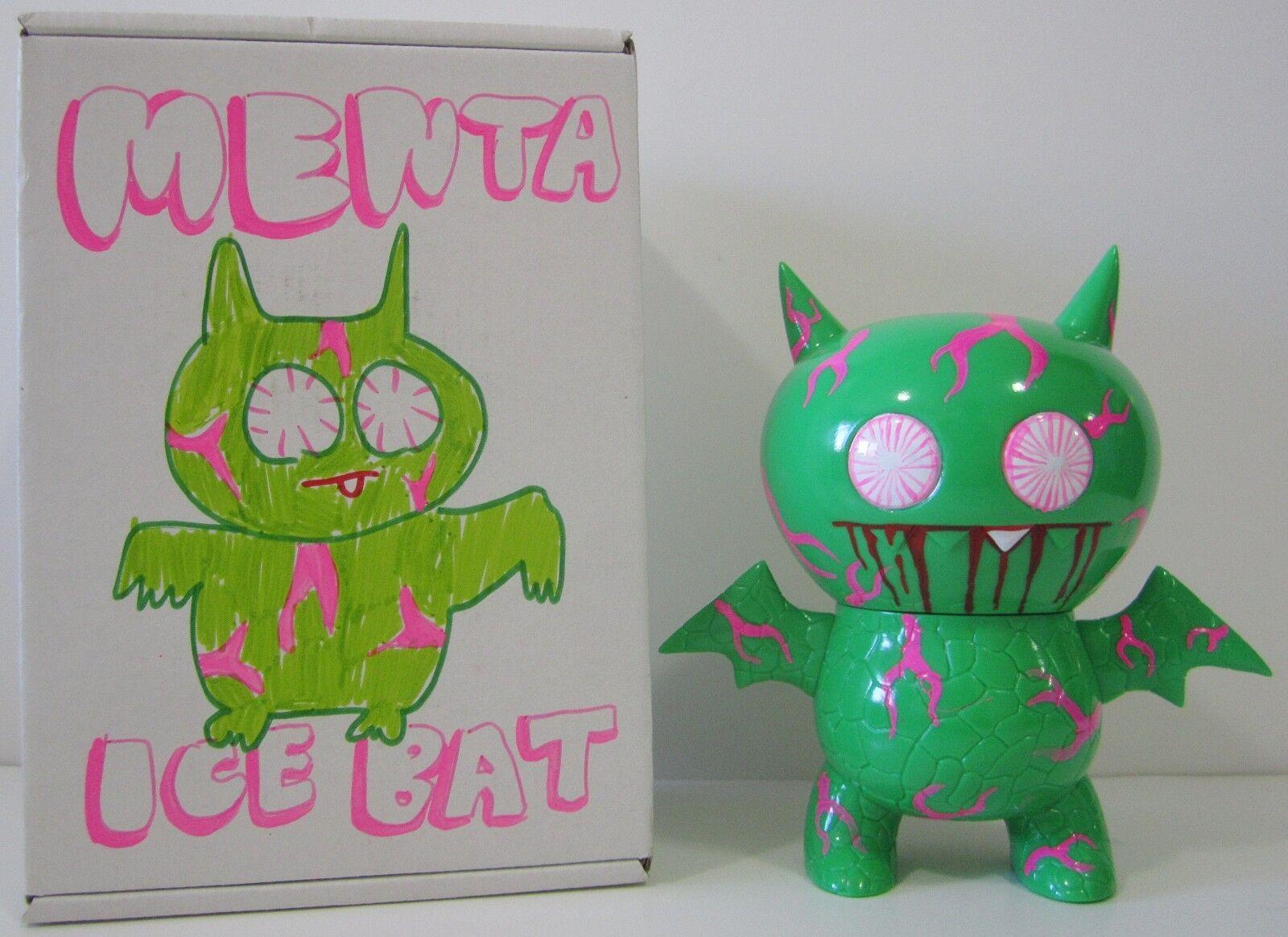 CRAZY RARE   MENTA ICE-BAT Kaiju Vinyl UGLYDOLL  ONLY 25 EXIST  DEHARA + HORVATH