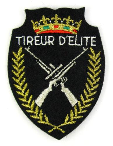 ♦ TIREUR D/' ELITE patch//crest embroidered Ecusson brodé militaire ♦