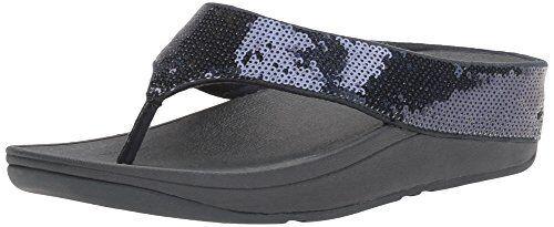 FitFlop Damenschuhe Flip Ringer Sequin Toe-Post Flip Damenschuhe Flop- Select SZ/Farbe. fb11c5