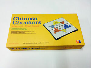 CHINESE-CHECKERS-7-034-MAGNETIC-GAME-BOARD-TRAVEL-PUZZLE-NOVELTY-TOY-KIDS-BRAIN