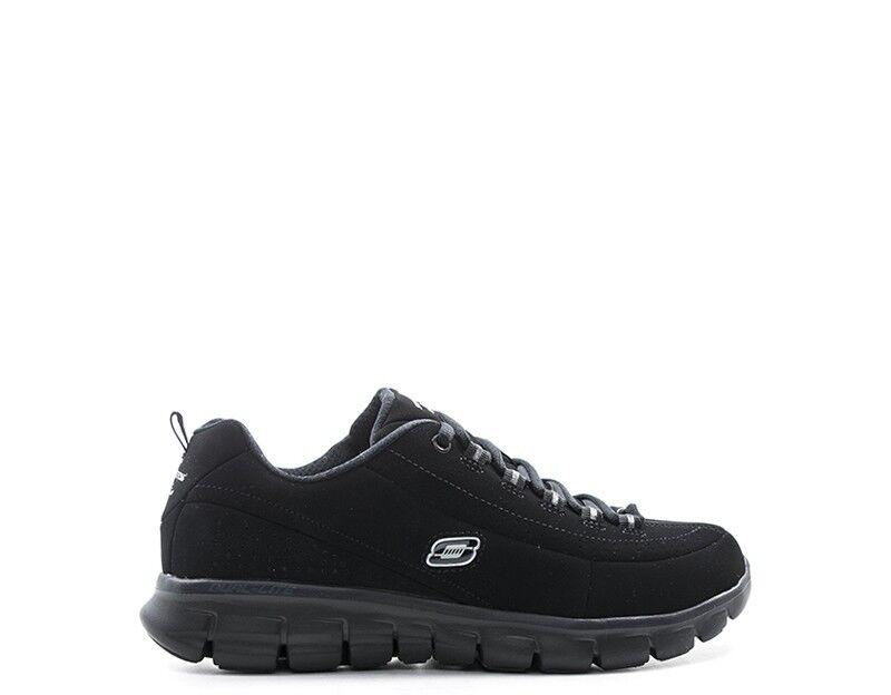 shoes SKECHERS SPORT women Sneakers Trendy  black Tessuto 11717-BBK-D 11717-BBK-D 11717-BBK-D 2cf30b