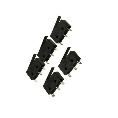 5pcs 250V 5A Quality 3 Pin Tact Switch Sensitive Microswitch Handle KW11-3Z