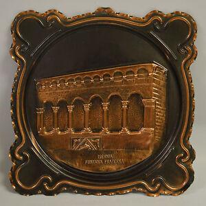 Art Metalware Isernia Fontana Fraterna Wall Plaque
