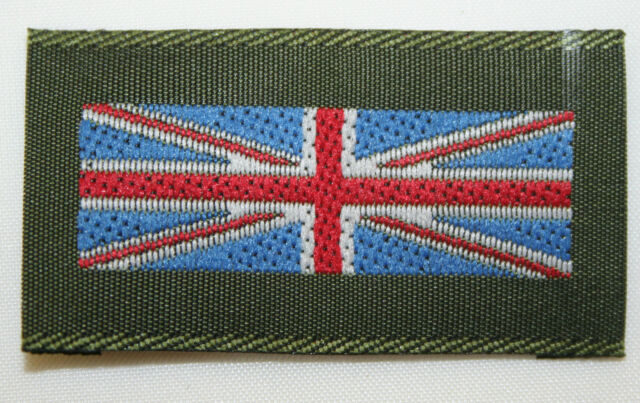 Genuine MoD Issue British Army Union Flag Patch 4.5mm x 2.5mm (Multi-Buy Offer!)