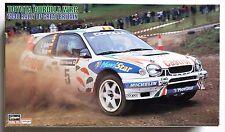 HASEGAWA 1/24 Toyota Corolla WRC 1998 Rally of Britain model kit *Decal damaged