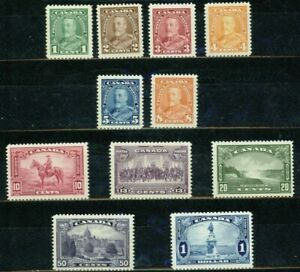 CANADA  1935 -KING GEORGE V PICTORIAL ISSUE - VF**
