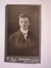 Karlsruhe - Wingolf - Ernst Weth - 1905 - Straßburg - CDV / Studentika