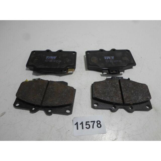 Tabletas Pastillas de Freno Delantero Front Brake Pad TRW Tierra Cruiser 1990