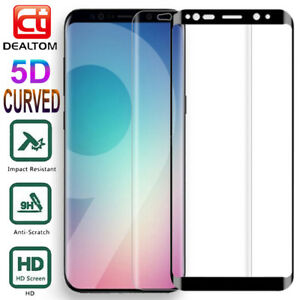 Full-Cover-Tempered-Glass-Screen-Protector-For-Samsung-Galaxy-S9-S8-Plus-S7-Edge