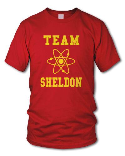 TEAM SHELDON - Kult T-Shirt - NERD Cooper - The Big Bang Theory - versch. Farben