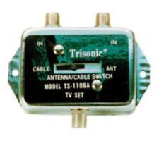 Trisonic AV Splitter Antenna/ Cable Switch