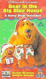bear in the big blue house a berry bear christmas vhs 2003 ebay - Bear In The Big Blue House A Berry Bear Christmas