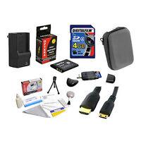 4gb Advanced Accessory Bundle For Sony Cybershot Dsc-wx9
