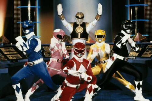 24 by 36 inch 1 POWER RANGERS 80s 90s Poster TV Movie Photo Poster